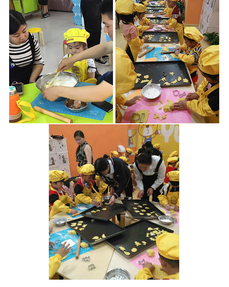餐饮加盟-集烘焙、DIY教育、娱乐三位一体的儿童烘焙乐园